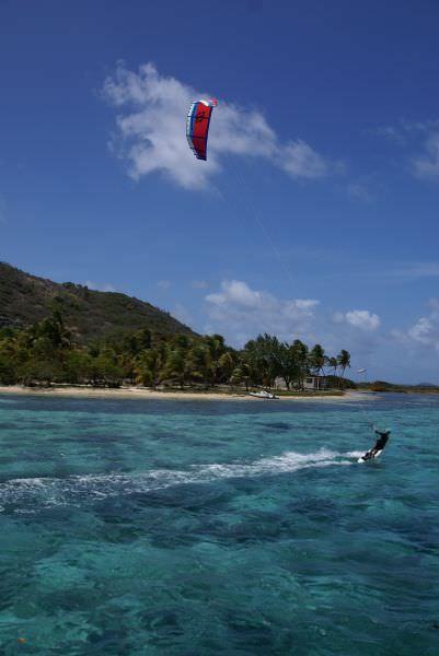Croisière Kite-surf Grenadines